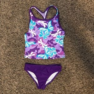Girl's Speedo Two-piece Swimsuit